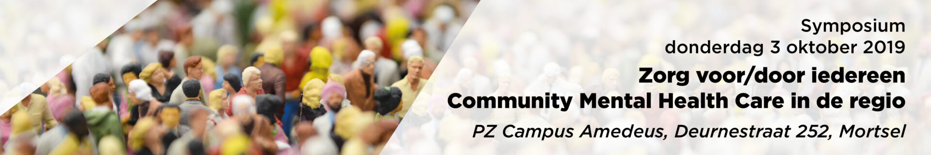 20191003 Community Mental Health Care - Banner programma